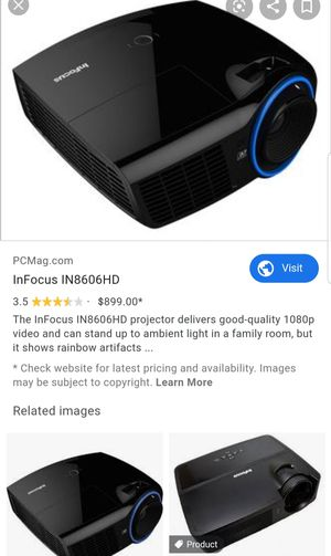 InFocus IN8606HD Home Theater Projection Machine for Sale in Portland, OR