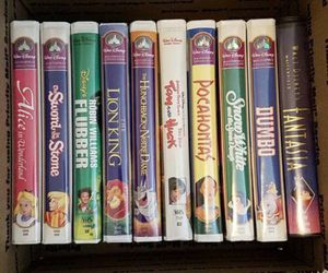 Disney Black Diamond/ Masterpiece VHS LOT! Beauty and the Beast, Lion King and more! for Sale in Bothell, WA