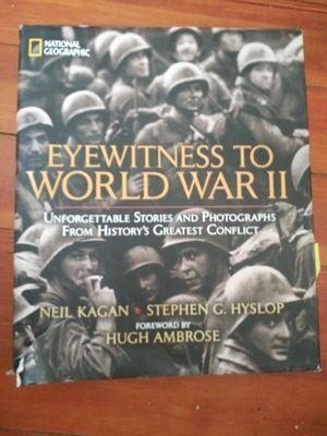 """Eyewitness to World War II"" Textbook for Sale in Hanson, MA"