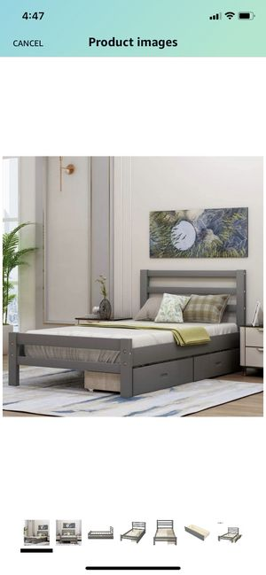 Twin bed with storage drawers for Sale in Bakersfield, CA