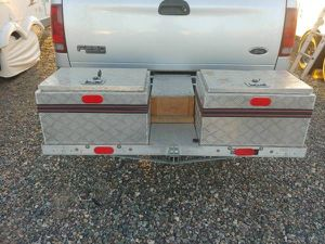 Hitch storage tool box carrier for Sale in Peoria, AZ