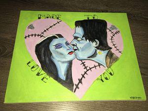 Frankenstein & bride 🧟♂️🧟♀️🖤 for Sale in Victorville, CA