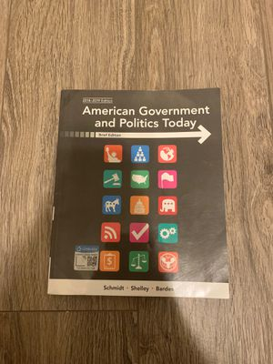 American government and politics today for Sale in Rancho Cucamonga, CA