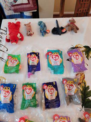 Teenie Beanie Babies for Sale in Riverview, FL