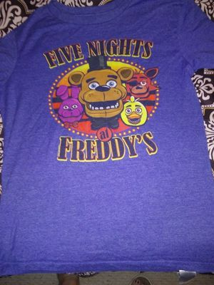 Old Navy Boys size XL Five Nights at Freddy's tshirt for Sale in San Angelo, TX