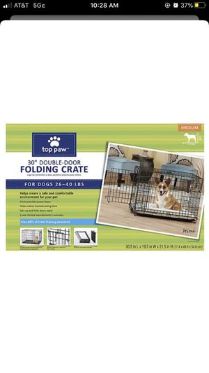 Folding Dog Crate for Sale in Houston, TX