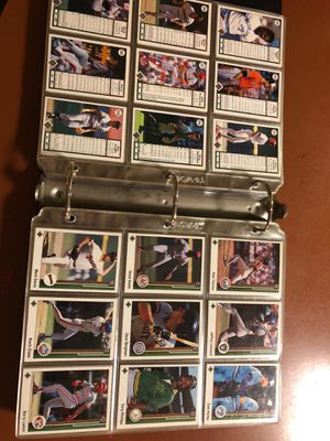 MLB card collection, baseball album for Sale in Pottstown, PA