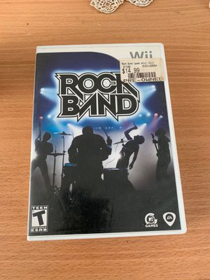 RockBand for Nintendo Wii for Sale in San Diego, CA