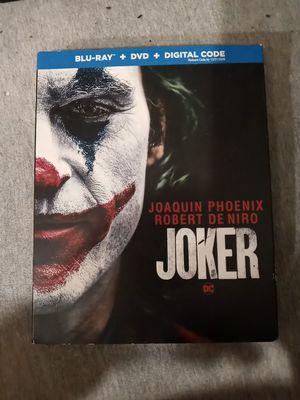 Joker (BluRay+Dvd+Digital+SlipCover) New Sealed for Sale in Hamlet, IN