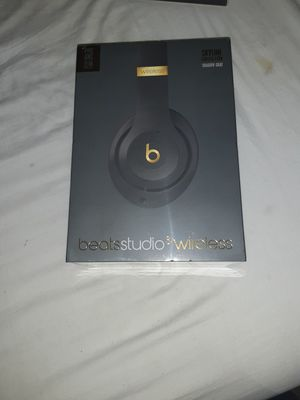 **NEW**BEATS BY DRE STUDIO 3 WIRELESS (SkyLine Colllection Shadow Grey) for Sale in San Diego, CA