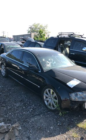 Selling parts for a black 2005 Audi A8 for Sale in Detroit, MI