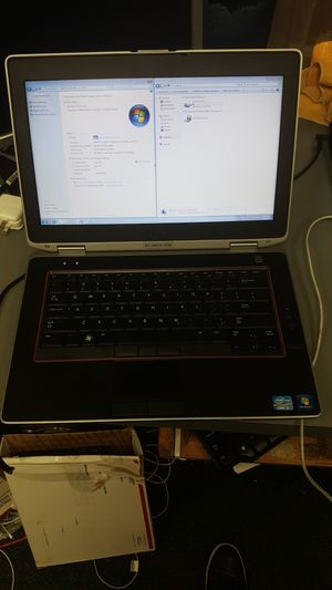 Dell Latitude laptop notebook computer intel i5 4gb ram 320gb hdd win 7 for Sale in Baltimore, MD