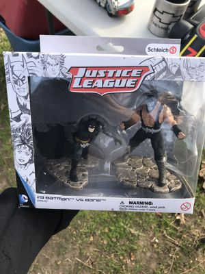 Batman and bane figures for Sale in Dallas, TX