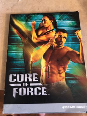 Core de force workout dvds for Sale in Sunbury, OH