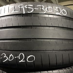 Two 295/30/20 One Michelin Pilot Super Sport With 50% Left Only One for Sale in Miami, FL