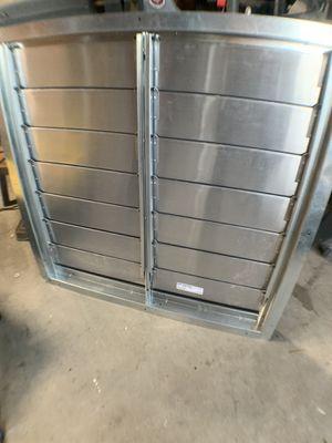 Steel open/close vent louvre (unused) for Sale in Santee, CA