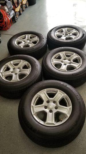 Set of 5 Michelin LTX m/s2 245/75 r17 for Sale in Yorba Linda, CA