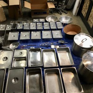 Catering Food Pans, Pots, Dishes, Utensils for Sale in Desert Hot Springs, CA