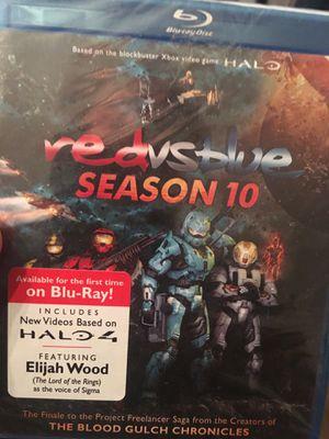 Red vs. Blue Season 10 (Blu-Ray) *NEW* for Sale in Fairfax, VA