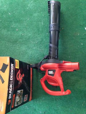 black and decker leaf blower for Sale in Cherry Hill, NJ