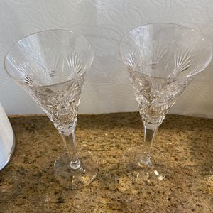 2Waterford Crystal - Millenium Cut- Prosperity Champange Flute Glass for Sale in Laguna Hills, CA