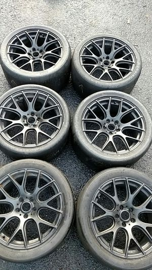 Wheels 18x10 rim with used tires for Sale in Drexel Hill, PA