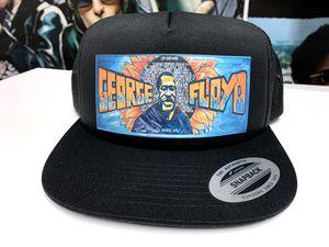 George Floyd RIP Street Art Tribute Trucker Hat for Sale in North Las Vegas, NV