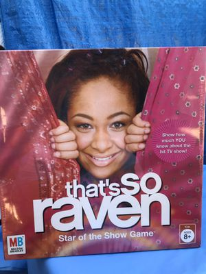 That's So Raven Board Game 2005 New for Sale in Azusa, CA