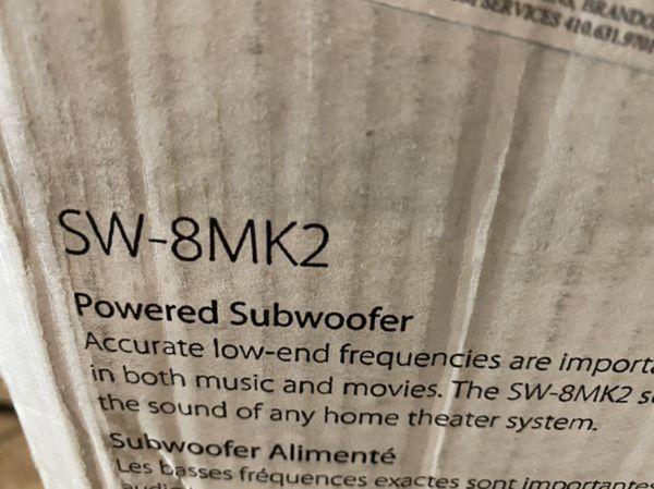 Pioneer surround sound speaker system