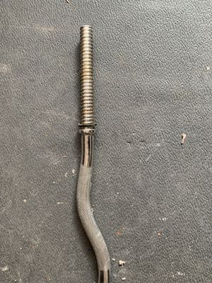 47 Inch Threaded Standard Curl Bar for Sale in Birmingham, MI