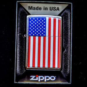 American Flag Zippo Lighter for Sale in Portland, OR