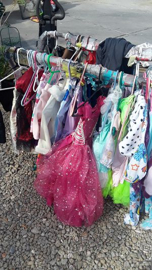Kids clothes and princess dresses for Sale in Las Vegas, NV