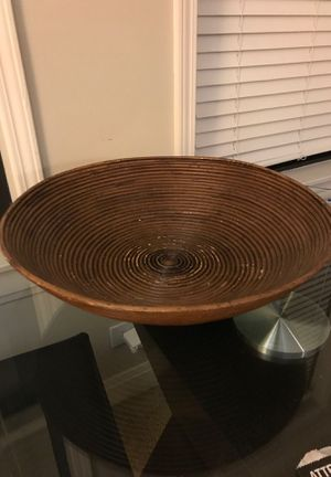 Wooden Fruit Bowl for Sale in Chicago, IL