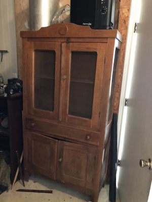 """PIE SAFE"" gorgeous cabinet w/ storage!! for Sale in Lafayette, LA"