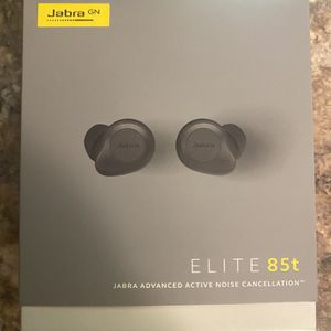 Jabra Elite 85t True Wireless Bluetooth Earbuds, Titanium Black – Advanced Noise-Cancelling Earbuds with Charging Case for Calls & Music – Wireless Ea for Sale in Phoenix, AZ