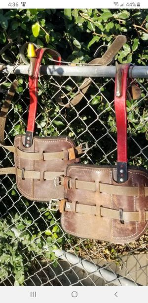 Bashlin Steel Climbers for Utility Poles for Sale in Riverside, CA