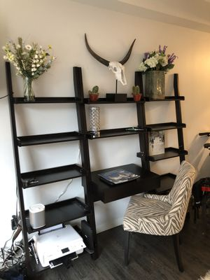 Ladder-Style Desk and Bookshelves for Sale in Boston, MA
