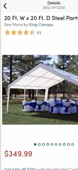 Party tent for Sale in Enumclaw, WA