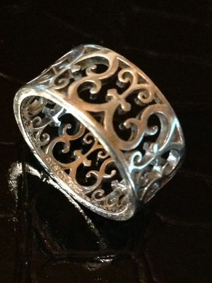 Tiffany & Co Enchant Sterling Eternity Ring 7.5 for Sale in Poulsbo, WA