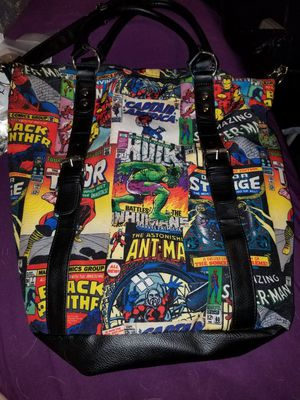 marvel comics large tote/purse for Sale in Lakeland, FL