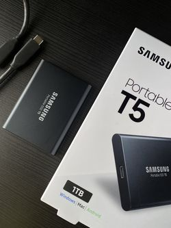 Samsung - T5 1TB External USB Type C for Sale in Southgate,  MI