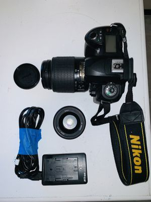 Nikon d70s dslr with two lenses for Sale in Tustin, CA