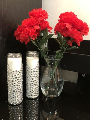 Icy Decorative Home Decor Candles for Sale in Port St. Lucie, FL