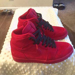 Jordan 1 Red Suede for Sale in Nashville, TN