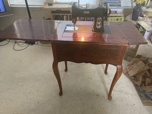 Antique rotary sewing machine by White Sewing Machine Corp. for Sale in Hillsboro, OR