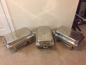 Stainless steel catering set for Sale in Germantown, MD