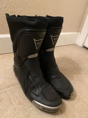 Dainese motorcycle boots needs repair size 11.5 US for Sale in Kirkland, WA