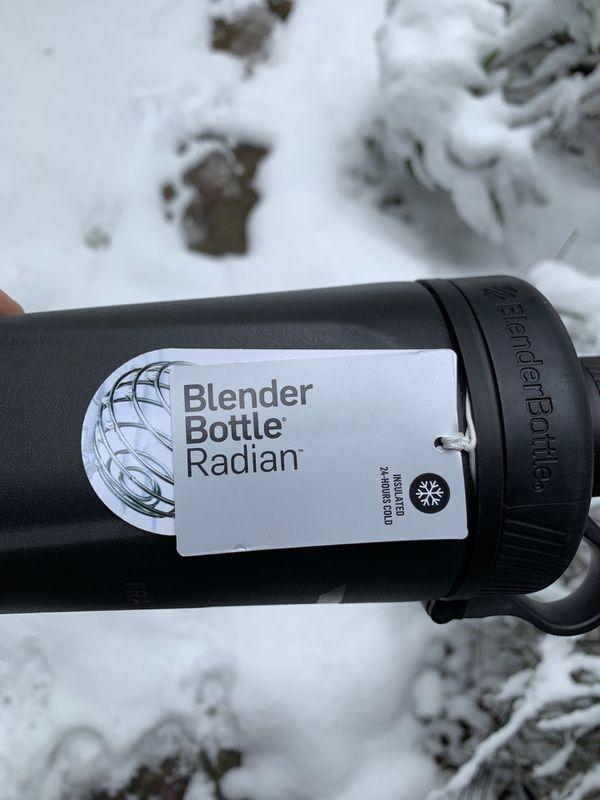 Train Centric Radian Blender Bottle