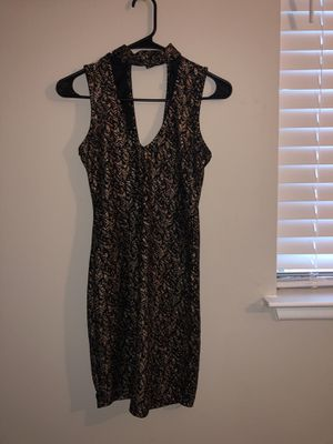 Dress size small gold and black for Sale in Columbia, MD