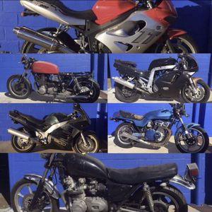 Honda Kawasaki Yamaha Suzuki cruiser sportbike streetbike motorcycle for Sale in Orlando, FL